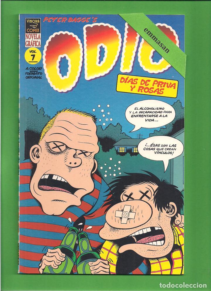 ODIO - VOL. 7 - DÍA DE PRIVA Y ROSAS - PETER BAGGE - LA CÚPULA - NOVELA GRÁFICA - NUEVO. (Tebeos y Comics - La Cúpula - Comic USA)
