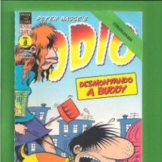 Cómics: ODIO - DESMONTANDO A BUDDY - VOL. 8 - PETER BAGGE - 2002 - 1ª EDICIÓN. - NUEVO. . Lote 114905067