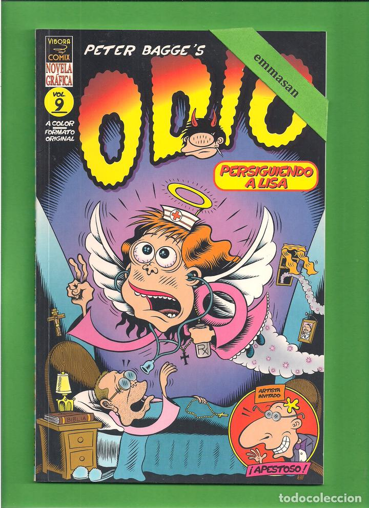 ODIO - VOL. 9 - PERSIGUIENDO A LISA - PETER BAGGE - LA CÚPULA - NOVELA GRÁFICA - NUEVO. (Tebeos y Comics - La Cúpula - Comic USA)