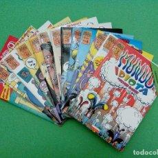 Cómics: MUNDO IDIOTA - Nº. 1-2-3-4-5-6-7-8-9-10-11-12-13 - PETER BAGGE - EDICIONES LA CÚPULA - COMPLETA.. Lote 114908731
