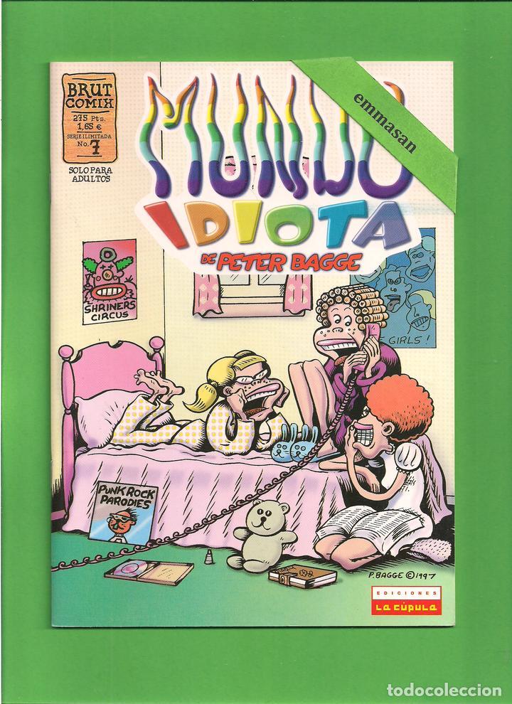 Cómics: MUNDO IDIOTA - Nº. 1-2-3-4-5-6-7-8-9-10-11-12-13 - PETER BAGGE - EDICIONES LA CÚPULA - COMPLETA. - Foto 8 - 114908731