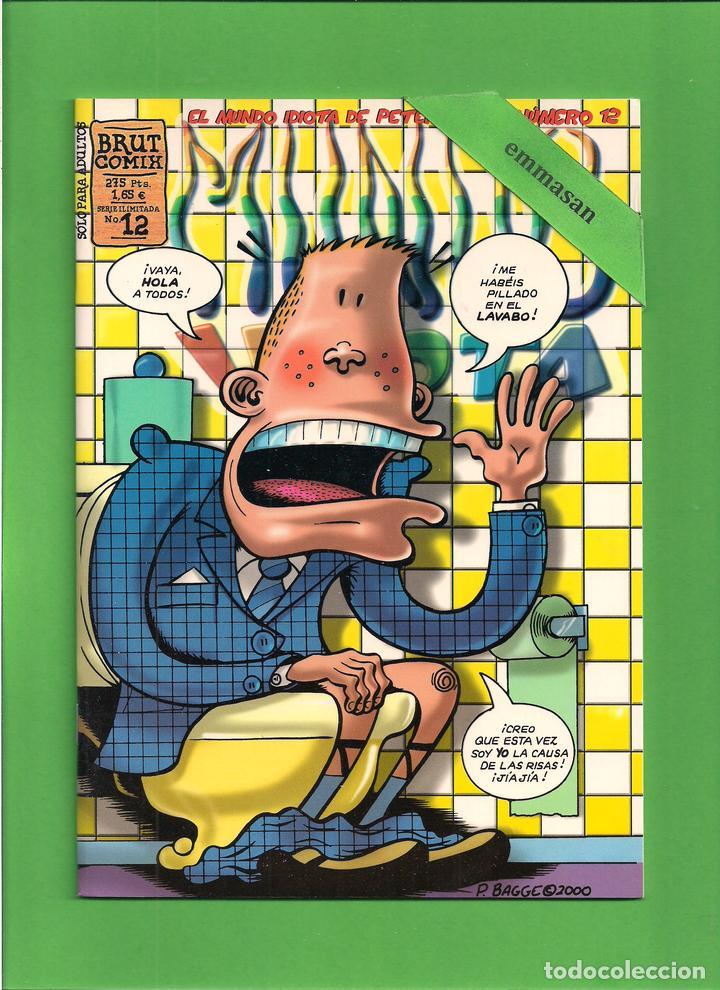 Cómics: MUNDO IDIOTA - Nº. 1-2-3-4-5-6-7-8-9-10-11-12-13 - PETER BAGGE - EDICIONES LA CÚPULA - COMPLETA. - Foto 13 - 114908731