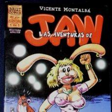 Cómics: LAS AVENTURAS DE JAW: (DE VICENTE MONTALBÁ).NUMERO UNICO. Lote 114987963
