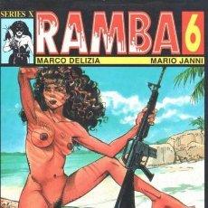Fumetti: RAMBA Nº 6 (MARCO DELIZIA / MARIO JANNI) LA CUPULA - BUEN ESTADO - C13. Lote 153508556