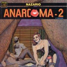 Cómics: ANARCOMA 2 (NAZARIO) LA CUPULA - COMO NUEVO - C13. Lote 115479167