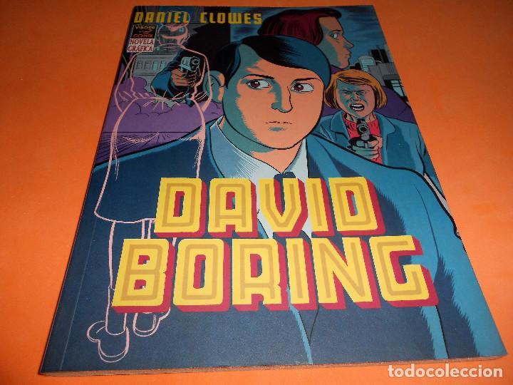 DAVID BORING / AUTOR : DANIEL CLOWES . BUEN ESTADO. (Tebeos y Comics - La Cúpula - Comic USA)