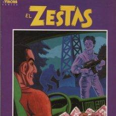 Cómics: EL ZESTAS - MURILLO Y RESANO - ALBUM LA CUPULA - EL VIBORA. Lote 116158123