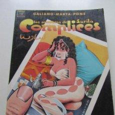 Cómics: LAS AVENTURAS DE SARITA - COMPLICES - GALIANO - MARTA - PONS - LA CUPULA - VIBORA COMIX SAD102. Lote 116348795