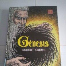 Cómics: LIBRO GÉNESIS-ROBERT CRUMB-LA CÚPULA-NOVELA GRÁFICA.. Lote 118195115