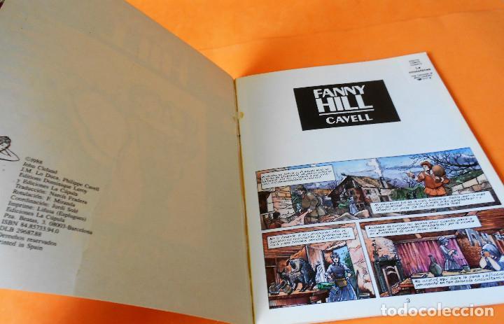 Cómics: FANNY HILL. CAVELL. COLECCION X 15. COLOR. RUSTICA. - Foto 3 - 118244151