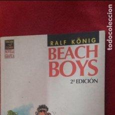 Cómics: BEACH BOYS - RALF KONIG - RUSTICA. Lote 118262567