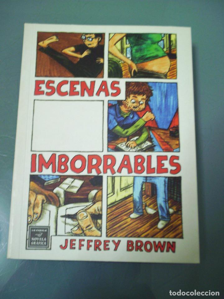 ESCENAS IMBORRABLES - JEFFREY BROWN. (Tebeos y Comics - La Cúpula - Comic USA)