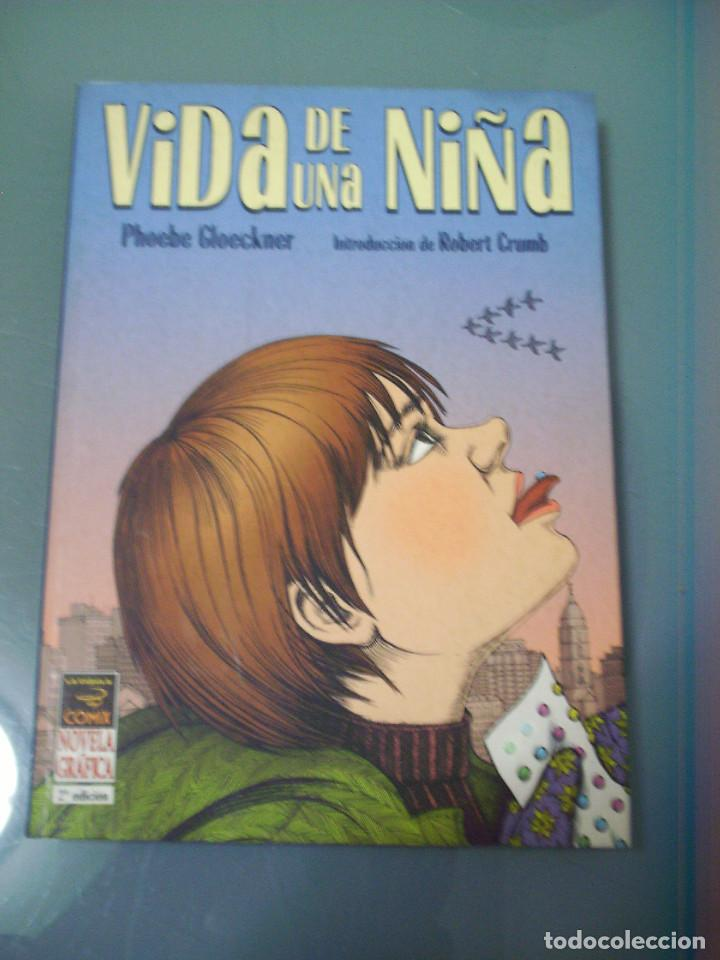 VIDA DE UNA NIÑA - PHOEBE GLOECKNER. (Tebeos y Comics - La Cúpula - Comic USA)