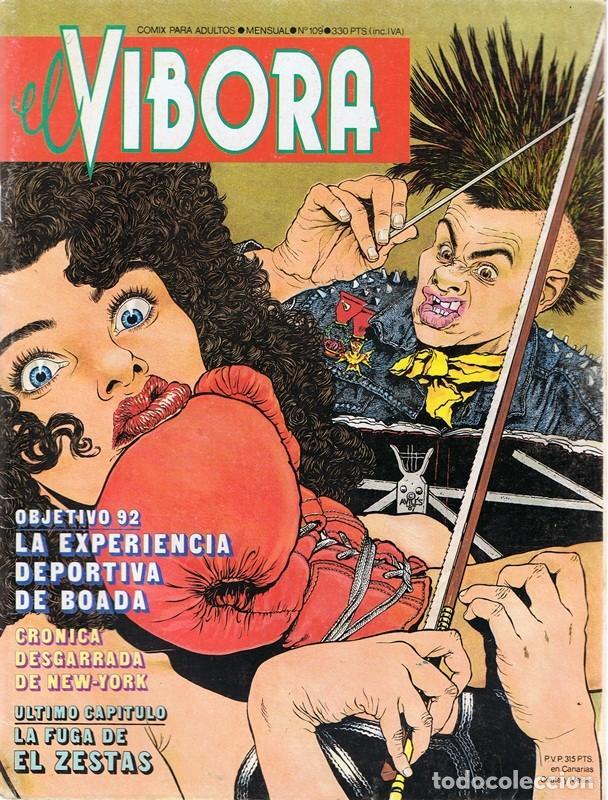 EL VÍBORA Nº 109 (Tebeos y Comics - La Cúpula - El Víbora)