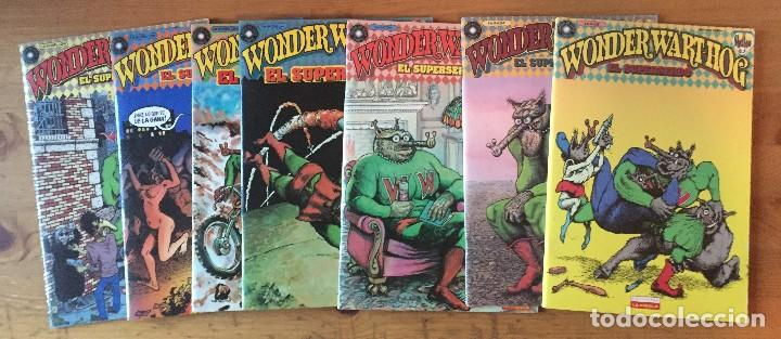 GILBERT SHELTON - WONDER WART-HOG, EL SUPERSERDO - 7 NUMEROS (Tebeos y Comics - La Cúpula - Comic USA)