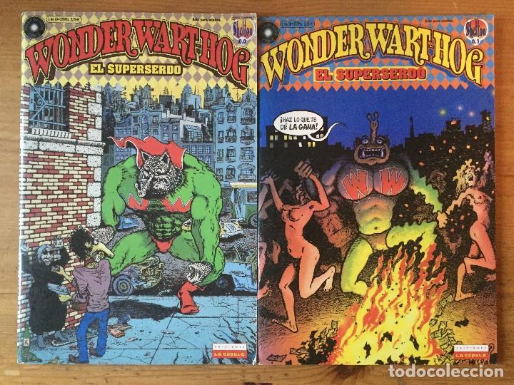Cómics: GILBERT SHELTON - WONDER WART-HOG, EL SUPERSERDO - 7 NUMEROS - Foto 2 - 118900331