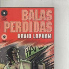 Cómics: BALAS PERDIDAS-LA CUPULA-AÑO 2000-B Y N-DAVID LAPHAM-Nº9-FORMATO PRESTIGE. Lote 119081863