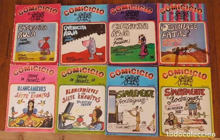 COMICICLO DE FORGES Nº 1,2,3,4,5,6,7,8 (Tebeos y Comics - La Cúpula - Autores Españoles)