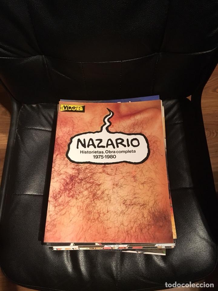 NAZARIO - HISTORIETAS - OBRA COMPLETA. 1975-1980 - EDICIONES LA CÚPULA. (Tebeos y Comics - La Cúpula - Autores Españoles)