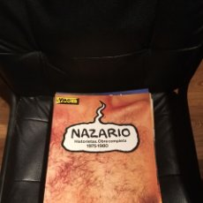 Cómics: NAZARIO - HISTORIETAS - OBRA COMPLETA. 1975-1980 - EDICIONES LA CÚPULA.. Lote 119908782