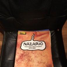Cómics - NAZARIO - HISTORIETAS - OBRA COMPLETA. 1975-1980 - EDICIONES LA CÚPULA. - 119908782