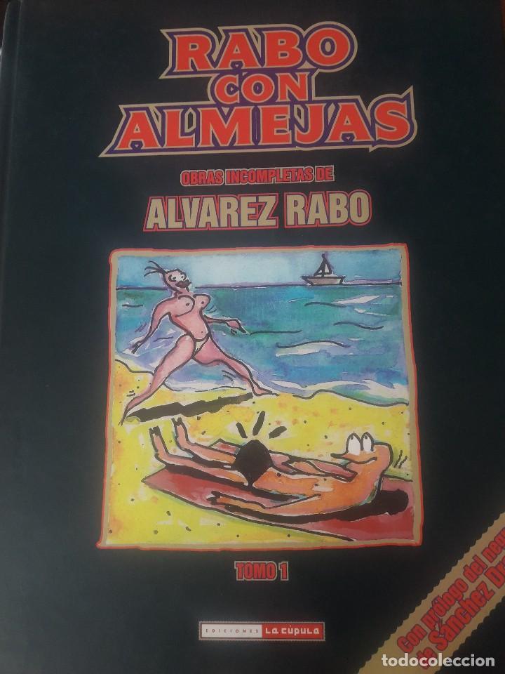 ALVAREZ RABO. RABO CON ALMEJAS. OBRAS INCOMPLETAS DE ALVAREZ RABO TOMO 1 LA CUPULA 2010 IMPECABLE (Tebeos y Comics - La Cúpula - Autores Españoles)