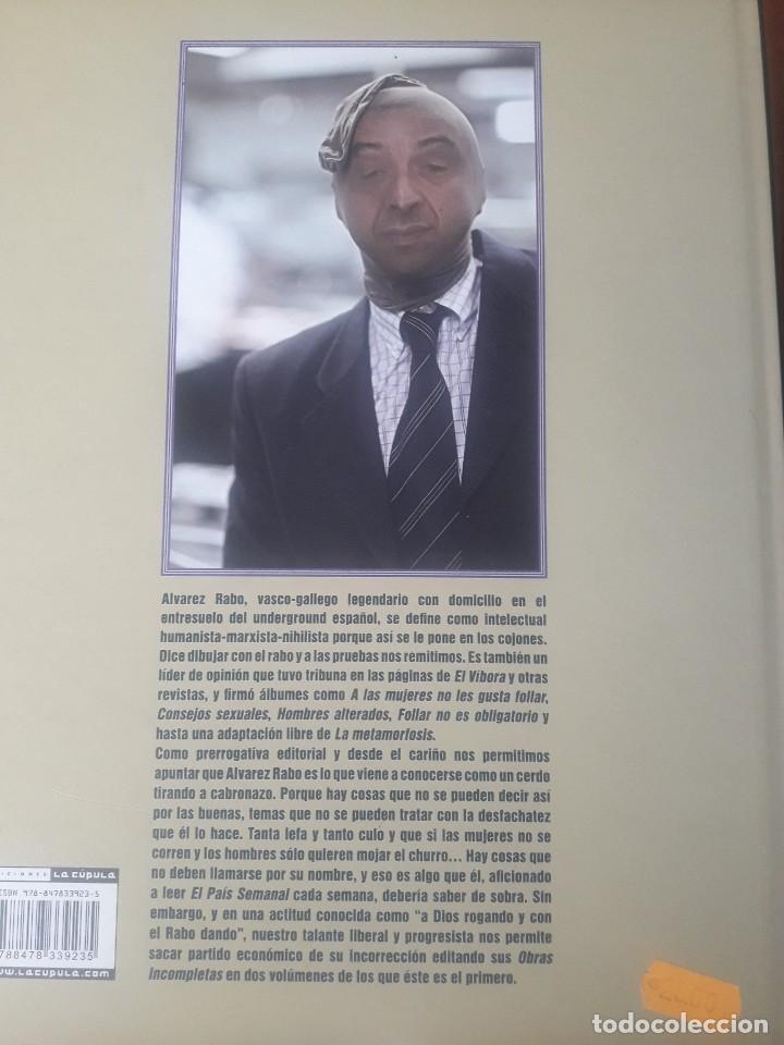 Cómics: ALVAREZ RABO. RABO CON ALMEJAS. OBRAS INCOMPLETAS DE ALVAREZ RABO TOMO 1 LA CUPULA 2010 IMPECABLE - Foto 2 - 120060835