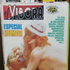 Cómics: EL VÍBORA - ESPECIAL HUMOR . Lote 120563207