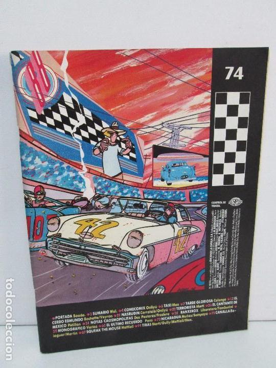 EL VIBORA. EDICIONES LA CUPULA. 74. COMICS Y TEBEOS. 1986. VER FOTOGRAFIAS ADJUNTAS (Tebeos y Comics - La Cúpula - El Víbora)
