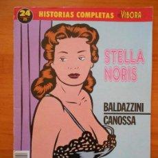 Fumetti: HISTORIAS COMPLETAS EL VIBORA Nº 24 - STELLA NORIS - BALDAZZINI - CANOSSA (AK). Lote 121025415