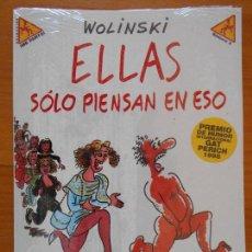 Comics : ELLAS SOLO PIENSAN EN ESO - WOLINSKI - COLECCION ¡ME PARTO! Nº 3 - LA CUPULA - NUEVO, PRECINTADO (K2. Lote 121162551