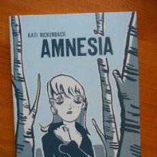 Cómics: AMNESIA - KATI RICKENBACH - LA CUPULA (BE). Lote 121714935