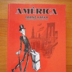 Comics : AMERICA - FRANZ KAFKA - DANIEL CASANAVE - ROBERT CARA - LA CUPULA (BF). Lote 121731535