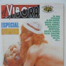 Cómics: EL VÍBORA. ESPECIAL HUMOR. Lote 121795723