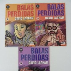 Cómics: BALAS PERDIDAS. DEL 1 AL 3. Lote 121849803