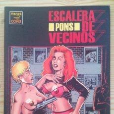 Cómics: EL VIBORA - ESCALERA DE VECINOS. Lote 122713783