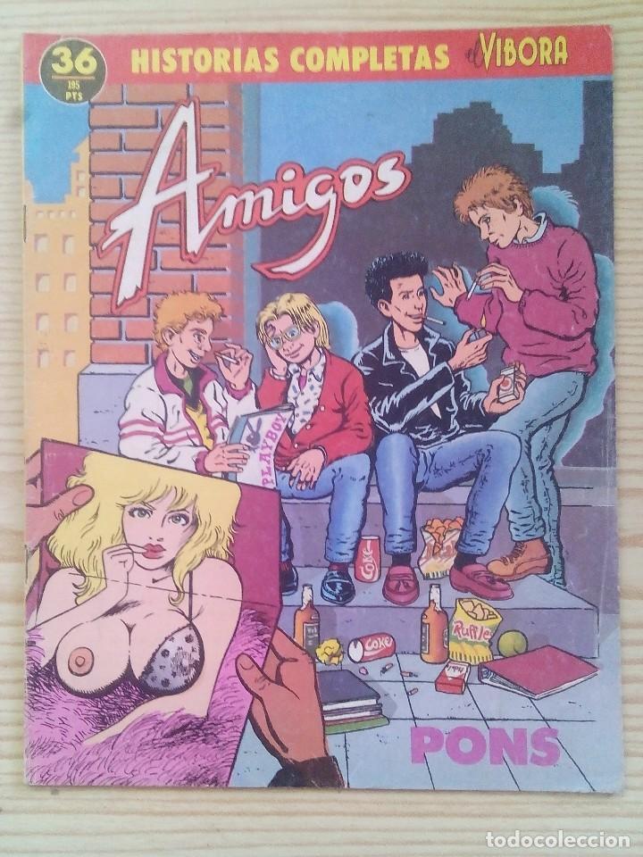 EL VIBORA - HISTORIAS COMPLETAS - AMIGOS (Tebeos y Comics - La Cúpula - El Víbora)