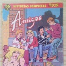 Cómics: EL VIBORA - HISTORIAS COMPLETAS - AMIGOS. Lote 122714043