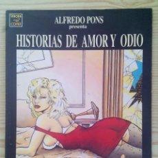 Cómics: EL VIBORA - HISTORIAS DE AMOR Y ODIO. Lote 122714399