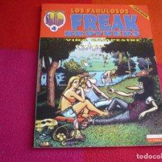 Cómics: LOS FABULOSOS FREAK BROTHERS OBRAS COMPLETAS 4 VIDA ( SHELTON SHERIDAN ) ¡MUY BUEN ESTADO! LA CUPULA. Lote 122776207