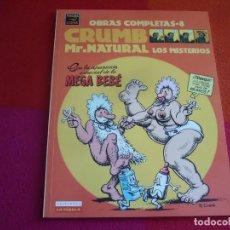 Cómics: MR. NATURAL LOS MISTERIOS OBRAS COMPLETAS 8 CRUMB ¡COMO NUEVO! LA CUPULA 1ª EDICION 2000. Lote 122776455