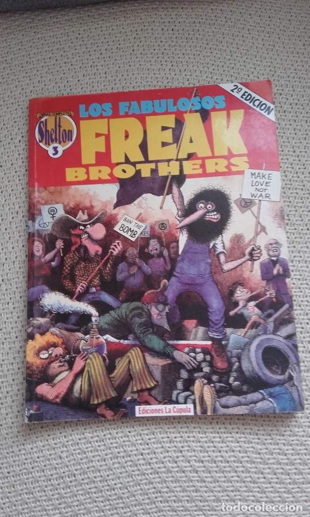 LOS FABULOSOS FREAK BROTHERS Nº 3, DE GILBERT SHELTON (OBRAS COMPLETAS DE SHELTON Nº 3) (Tebeos y Comics - La Cúpula - Comic USA)
