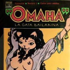 Cómics: OMAHA, LA GATA BAILARINA, Nº 1. Lote 123536447