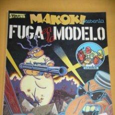 Cómics: MAKOKI, FUGA EN LA MODELO, GALLARDO Y MEDIAVILLA, ED. LA CÚPULA, 1ª EDICIÓN DEL AÑO 1981, ERCOM. Lote 123556175