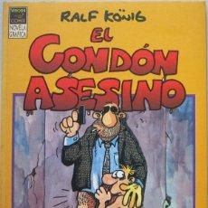 Cómics: RALF KÖNIG. EL CONDÓN ASESINO. LA CÚPULA 1991. Lote 123606583