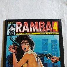 Cómics: RAMBA 4 SERIES X ESTADO BUENO EDICIONES LA CUPULA . Lote 123961507