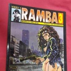 Cómics: RAMBA 3. DELIZIA. VALDAMBRINI. EDICIONES LA CUPULA . Lote 124153775