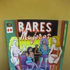 Cómics: BARES Y MUJERES. PONS. VIBORA COMIX. Nº 1. EDICIONES LA CUPULA . DICIEMBRE 1990.. Lote 124597219