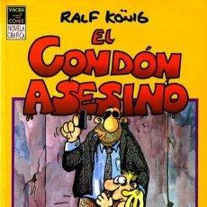 Cómics: EL CONDÓN ASESINO - RALF KÖNIG- NOVELA GRÁFICA- 1991- FLAMANTE- RARA- ESCASA-LEAN-8966. Lote 125309883