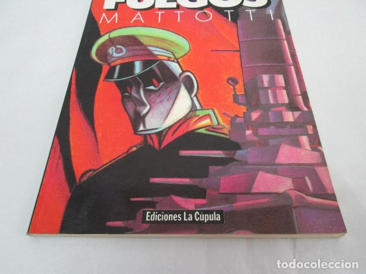 Cómics: FUEGOS. MATTOTI.. EDICIONES LA COPULA.1988. COMICS Y TEBEOS. VER FOTOGRAFIAS ADJUNTAS - Foto 3 - 125326723